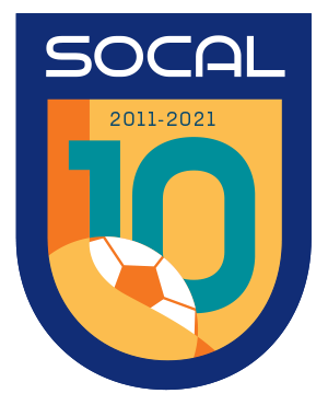 SOCAL 10th Anniversary Logo